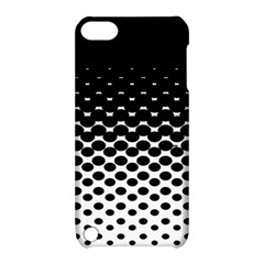 Halftone Gradient Pattern Apple iPod Touch 5 Hardshell Case with Stand