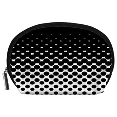Halftone Gradient Pattern Accessory Pouches (Large)