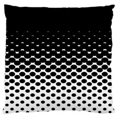 Halftone Gradient Pattern Standard Flano Cushion Case (two Sides)