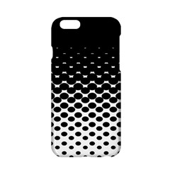 Halftone Gradient Pattern Apple iPhone 6/6S Hardshell Case
