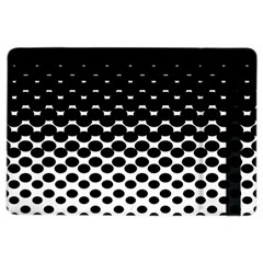 Halftone Gradient Pattern iPad Air 2 Flip