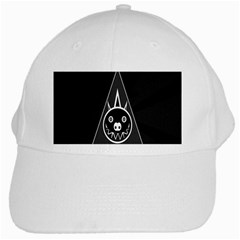 Abstract Pigs Triangle White Cap