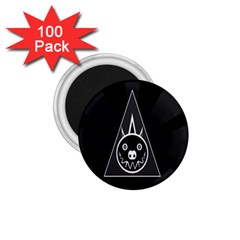 Abstract Pigs Triangle 1 75  Magnets (100 Pack)