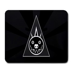 Abstract Pigs Triangle Large Mousepads