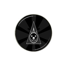 Abstract Pigs Triangle Hat Clip Ball Marker