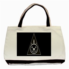 Abstract Pigs Triangle Basic Tote Bag (two Sides)