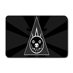Abstract Pigs Triangle Small Doormat