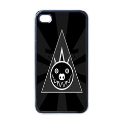 Abstract Pigs Triangle Apple Iphone 4 Case (black)