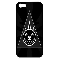 Abstract Pigs Triangle Apple iPhone 5 Hardshell Case
