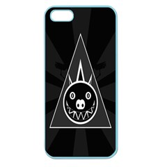 Abstract Pigs Triangle Apple Seamless Iphone 5 Case (color)