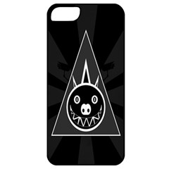Abstract Pigs Triangle Apple Iphone 5 Classic Hardshell Case