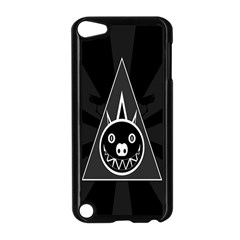 Abstract Pigs Triangle Apple Ipod Touch 5 Case (black)