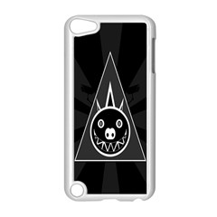 Abstract Pigs Triangle Apple iPod Touch 5 Case (White)