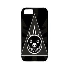 Abstract Pigs Triangle Apple iPhone 5 Classic Hardshell Case (PC+Silicone)