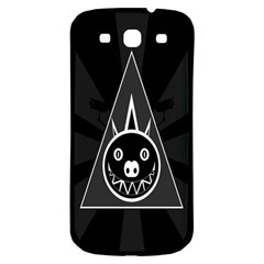 Abstract Pigs Triangle Samsung Galaxy S3 S III Classic Hardshell Back Case