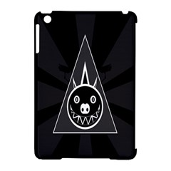 Abstract Pigs Triangle Apple iPad Mini Hardshell Case (Compatible with Smart Cover)