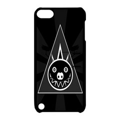 Abstract Pigs Triangle Apple iPod Touch 5 Hardshell Case with Stand
