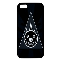 Abstract Pigs Triangle Apple iPhone 5 Premium Hardshell Case