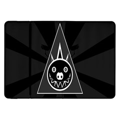 Abstract Pigs Triangle Samsung Galaxy Tab 8 9  P7300 Flip Case