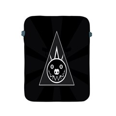 Abstract Pigs Triangle Apple iPad 2/3/4 Protective Soft Cases