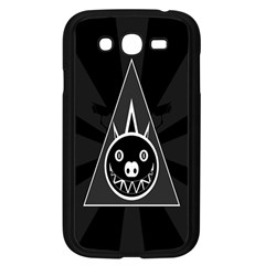 Abstract Pigs Triangle Samsung Galaxy Grand DUOS I9082 Case (Black)