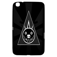 Abstract Pigs Triangle Samsung Galaxy Tab 3 (8 ) T3100 Hardshell Case