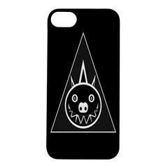 Abstract Pigs Triangle Apple iPhone 5S/ SE Hardshell Case