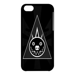 Abstract Pigs Triangle Apple iPhone 5C Hardshell Case