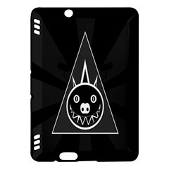 Abstract Pigs Triangle Kindle Fire Hdx Hardshell Case