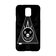 Abstract Pigs Triangle Samsung Galaxy S5 Hardshell Case