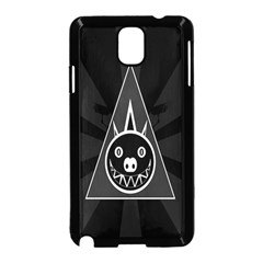 Abstract Pigs Triangle Samsung Galaxy Note 3 Neo Hardshell Case (Black)