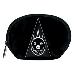 Abstract Pigs Triangle Accessory Pouches (Medium)