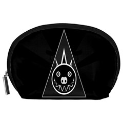 Abstract Pigs Triangle Accessory Pouches (large)