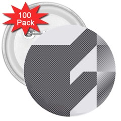 Gradient Base 3  Buttons (100 pack)
