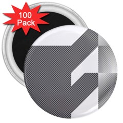 Gradient Base 3  Magnets (100 Pack)