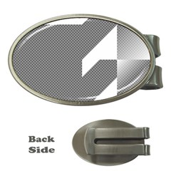 Gradient Base Money Clips (Oval)
