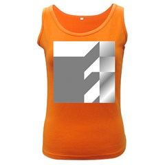 Gradient Base Women s Dark Tank Top