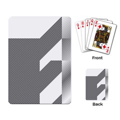 Gradient Base Playing Card
