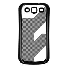 Gradient Base Samsung Galaxy S3 Back Case (Black)