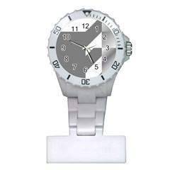 Gradient Base Plastic Nurses Watch
