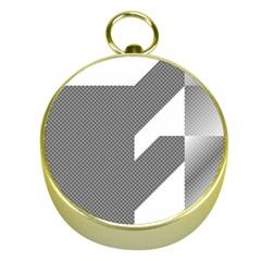 Gradient Base Gold Compasses