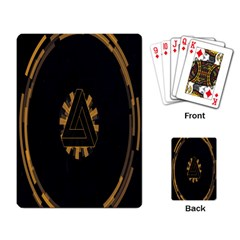 Geometry Interfaces Deus Ex Human Revolution Deus Ex Penrose Triangle Playing Card