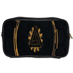 Geometry Interfaces Deus Ex Human Revolution Deus Ex Penrose Triangle Toiletries Bags 2 Side