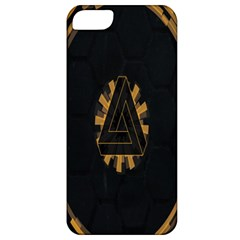 Geometry Interfaces Deus Ex Human Revolution Deus Ex Penrose Triangle Apple iPhone 5 Classic Hardshell Case