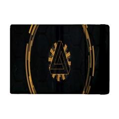 Geometry Interfaces Deus Ex Human Revolution Deus Ex Penrose Triangle Apple iPad Mini Flip Case