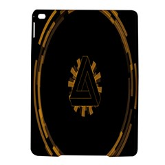 Geometry Interfaces Deus Ex Human Revolution Deus Ex Penrose Triangle iPad Air 2 Hardshell Cases