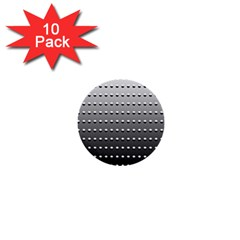 Gradient Oval Pattern 1  Mini Buttons (10 pack)