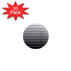Gradient Oval Pattern 1  Mini Magnet (10 Pack)