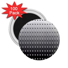 Gradient Oval Pattern 2 25  Magnets (100 Pack)