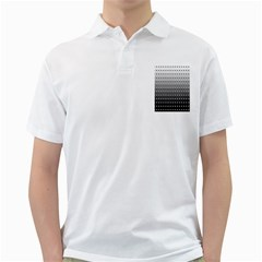 Gradient Oval Pattern Golf Shirts